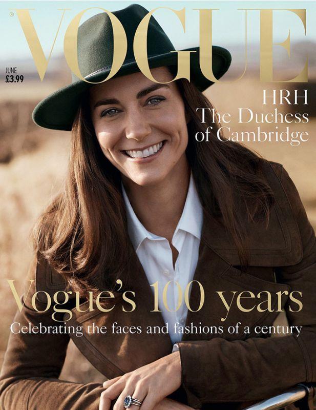Кейт Миддлтон для Vogue UK