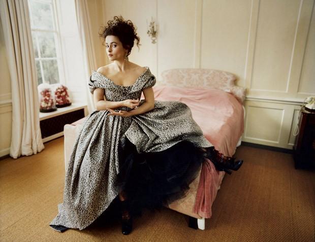 Хелена Бонем Картер в Harper's Bazaar