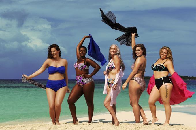 Бадипозитив в рекламе Swimsuitsforall
