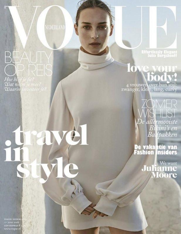Julia Bergshoeff в Vogue Netherlands