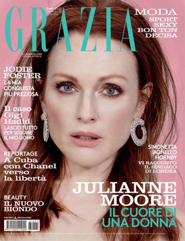 Джулианна Мур для Grazia Italy