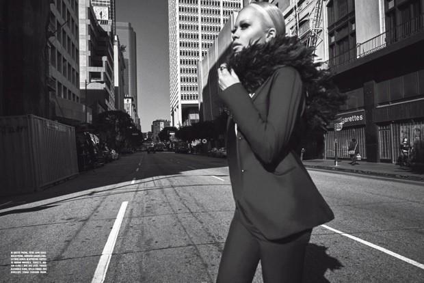 Рита Ора в L'Uomo Vogue