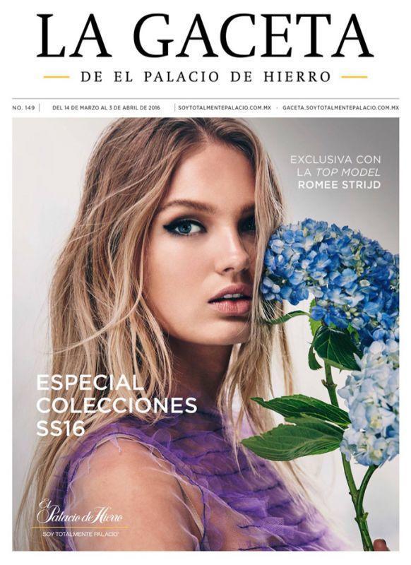 Роми Стрийд на обложке La Gaceta from El Palacio de Hierro