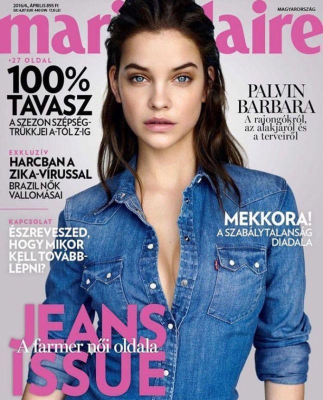 Барбара Пэлвин для Marie Claire Hungary