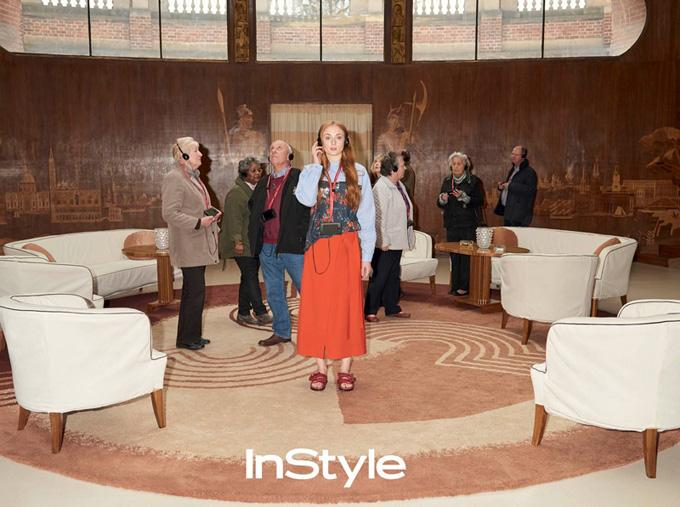 Софи Тернер в InStyle UK