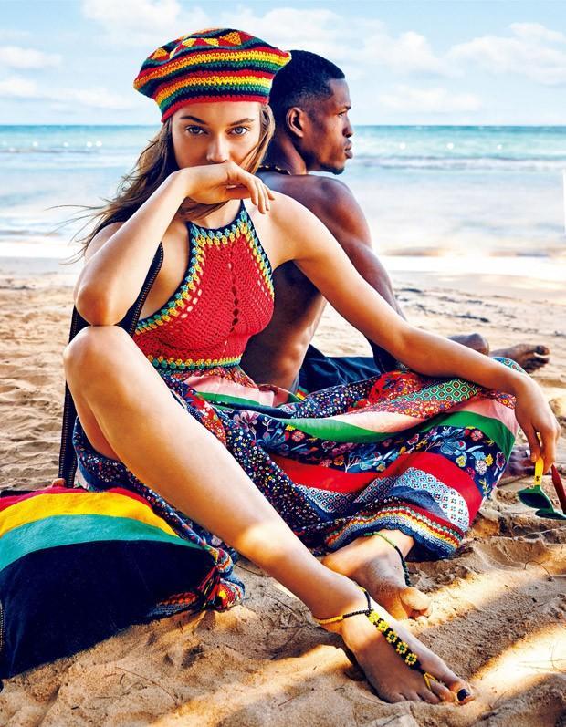 Ямайская история в Vogue Japan