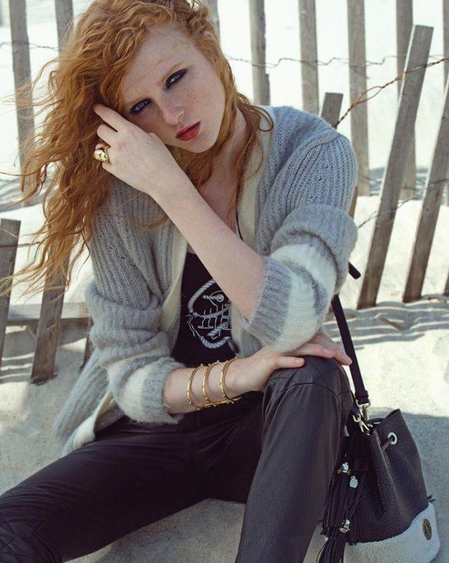 Мэдисон Стаббингтон на страницах Vogue