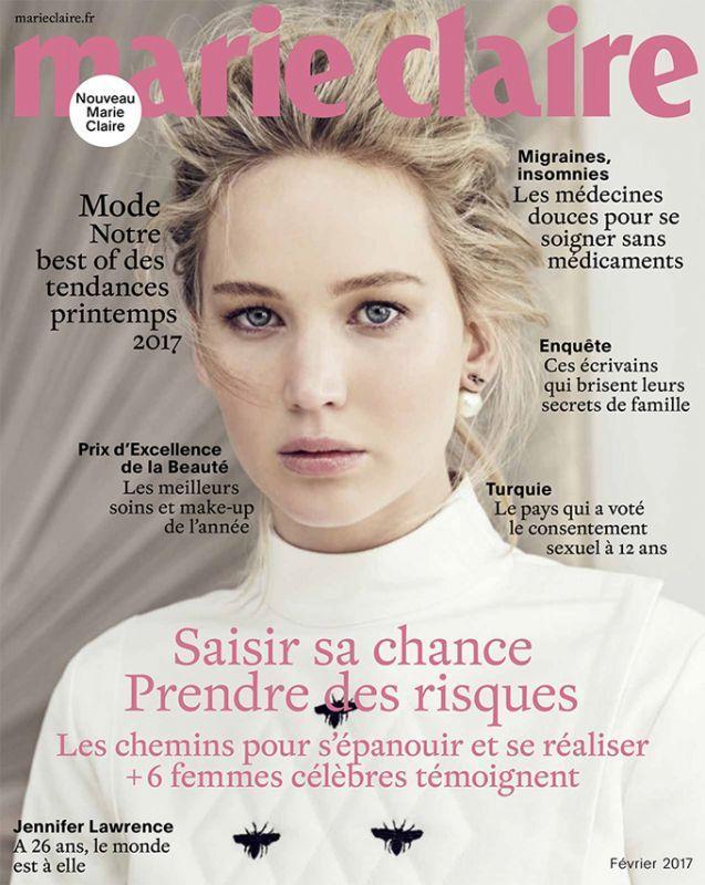 Дженнифер Лоуренс в Marie Claire