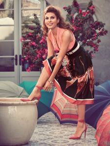 Ева Мендес в рекламе New York & Company