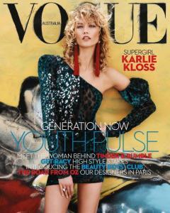 Карли Клосс в Vogue Australia