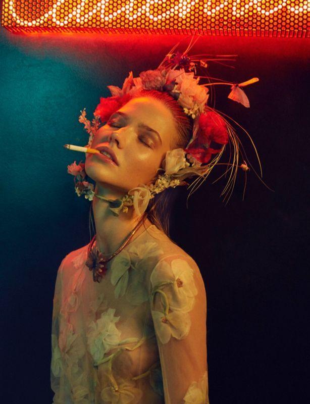 Саша Лусс для Vogue Portugal