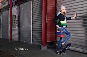 Кара Делевинь для Chanel