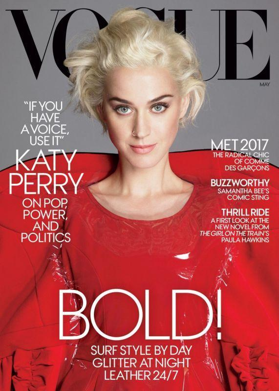 Кэти Перри в Vogue