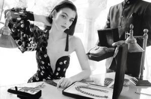 Виктория Черетти для Vogue Paris
