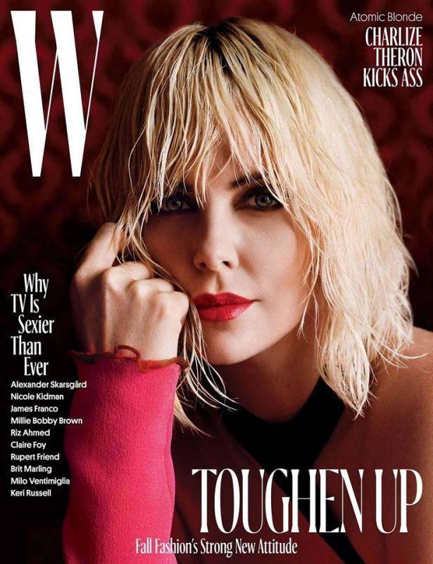 Шарлиз Терон для W Magazine