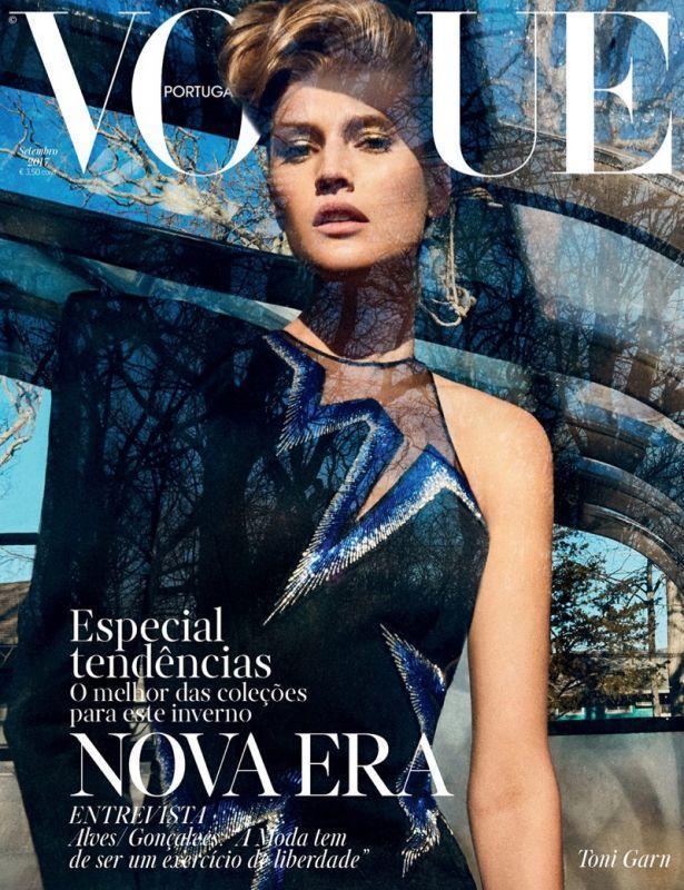 Тони Гаррн в португальском Vogue