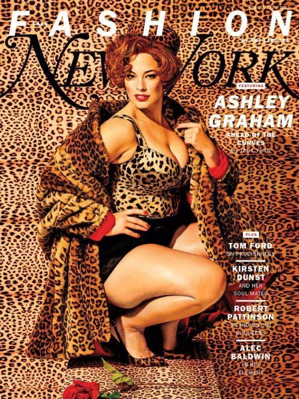 Эшли Грэм в New York Magazine