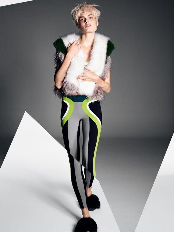 Агнета Хегелунд для итальянского Glamour