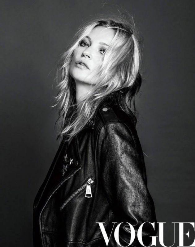 Кейт Мосс в Vogue China